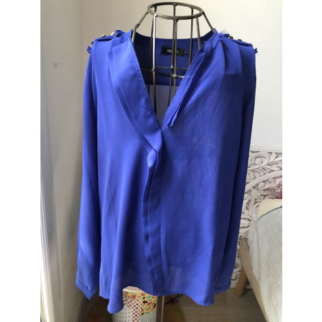 Blouse LYNN ADLER Bleu, bleu marine, bleu turquoise