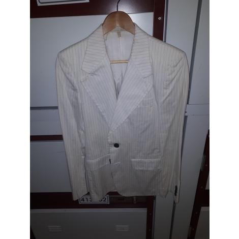 Veste de costume ZARA Blanc, blanc cassé, écru
