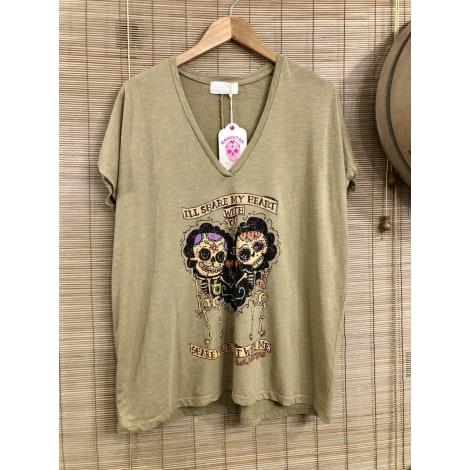 Top, tee-shirt BANDITAS Beige, camel