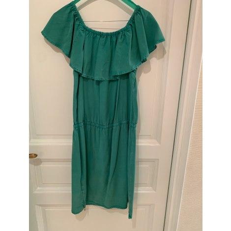 Robe courte JACQUELINE RIU Vert