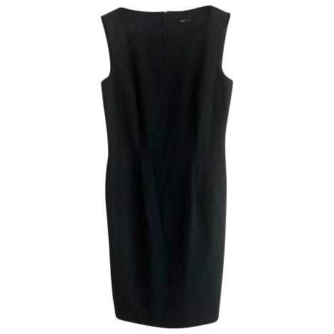 Robe mi-longue HUGO BOSS Noir