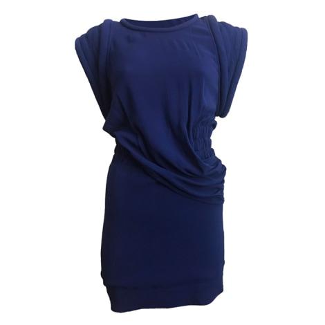 Mini Dress IRO Blue, navy, turquoise
