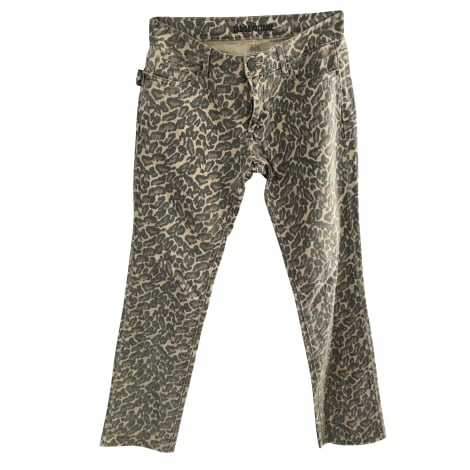 Pantalon droit ZADIG & VOLTAIRE Imprimés animaliers