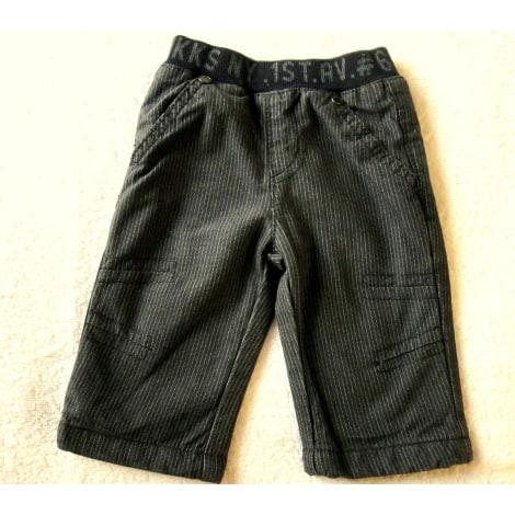 Pantalon IKKS Gris, anthracite