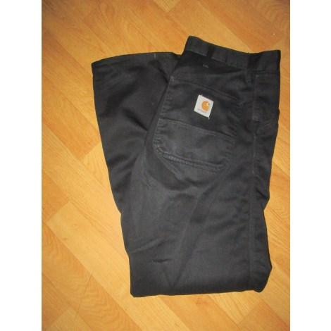 Pantalon droit CARHARTT Noir