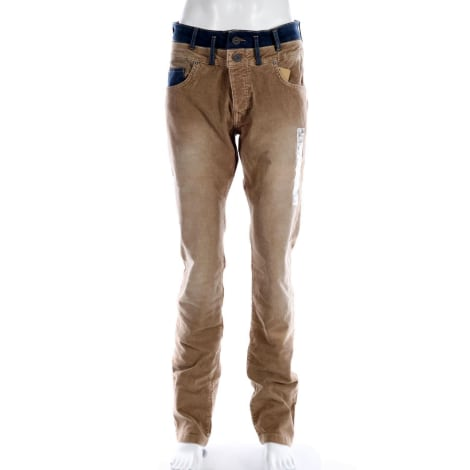 Straight Leg Jeans DESIGUAL Brown
