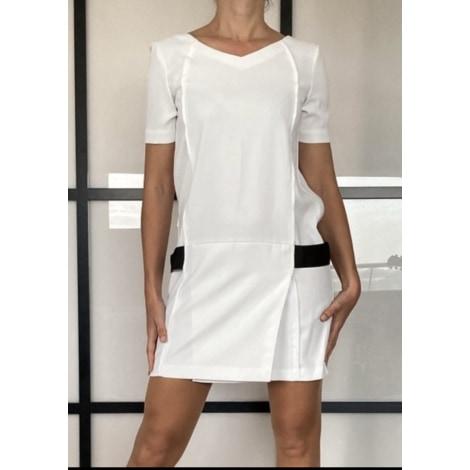 Robe courte THE KOOPLES Blanc, blanc cassé, écru