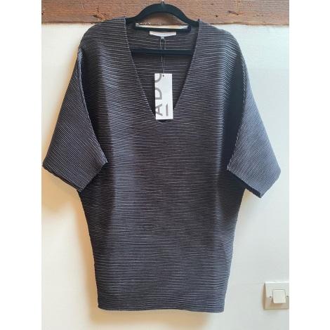 Top, tee-shirt ADOLFO DOMINGUEZ Noir