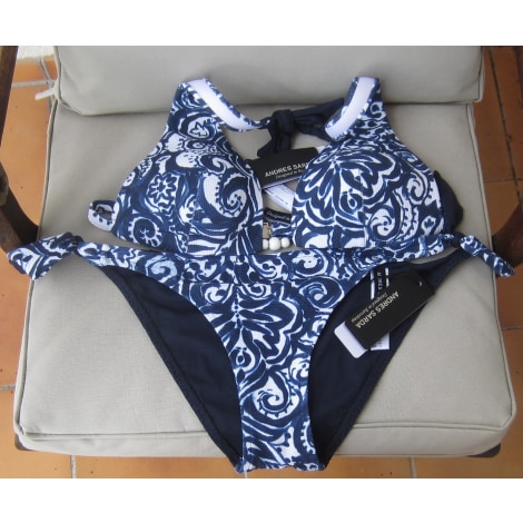 Maillot de bain deux-pièces ANDRES SARDA Bleu, bleu marine, bleu turquoise