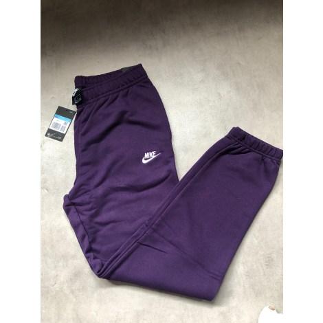 Pantalon de survêtement NIKE Violet, mauve, lavande