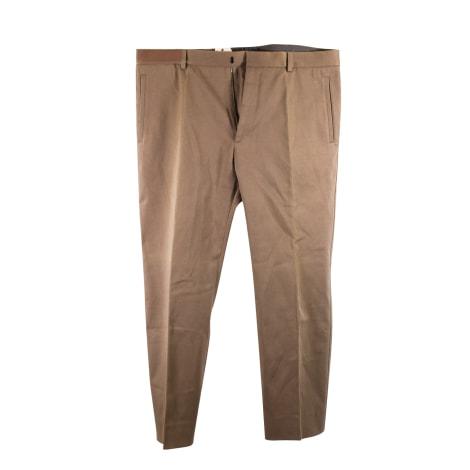 Pantalon droit JIL SANDER Kaki