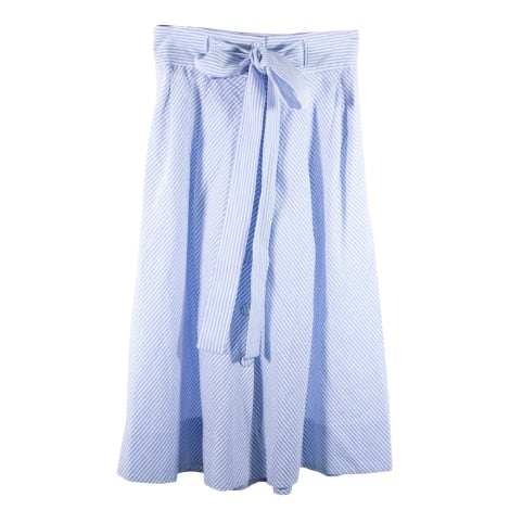 Jupe longue TARA JARMON Bleu, bleu marine, bleu turquoise
