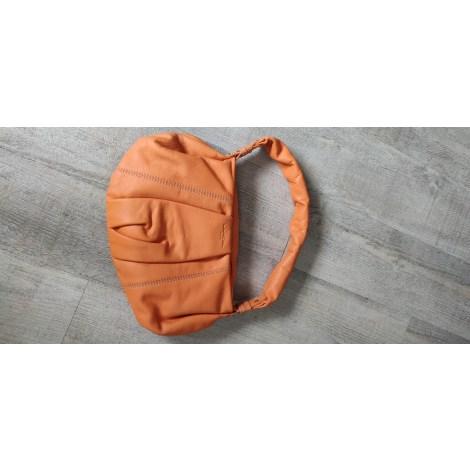 Sac à main en cuir LANCEL Orange
