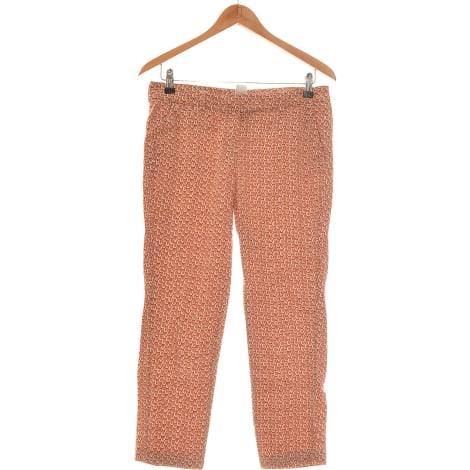 Pantalon droit LA REDOUTE Marron