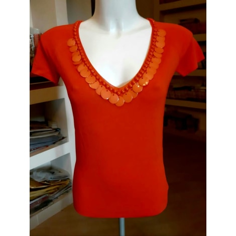 Top, tee-shirt BLUMARINE Orange