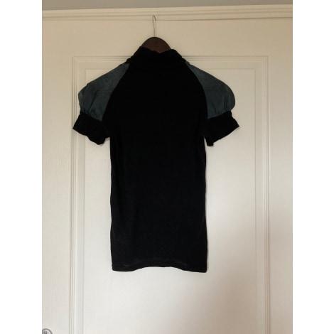 Top, tee-shirt MARITHÉ ET FRANÇOIS GIRBAUD Noir