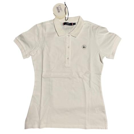 Polo JOTT Blanc, blanc cassé, écru