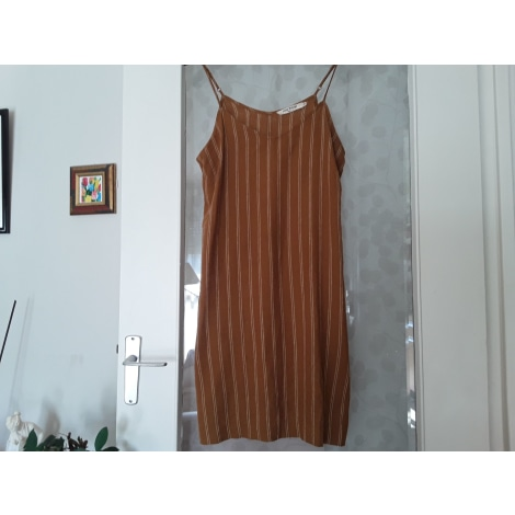 Robe courte NICE THINGS Marron