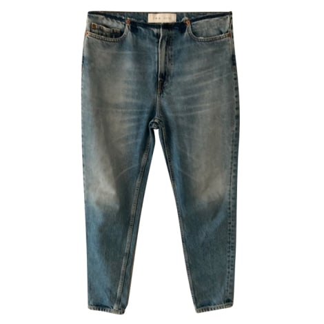 Jeans dritto IRO Blu, blu navy, turchese