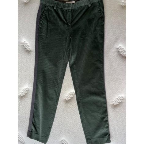 Pantalon droit FABIANA FILIPPI Vert
