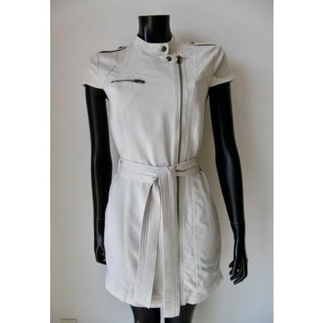 Robe courte ARMANI EXCHANGE Blanc, blanc cassé, écru