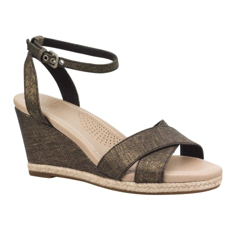 Sandales compensées UGG Doré, bronze, cuivre