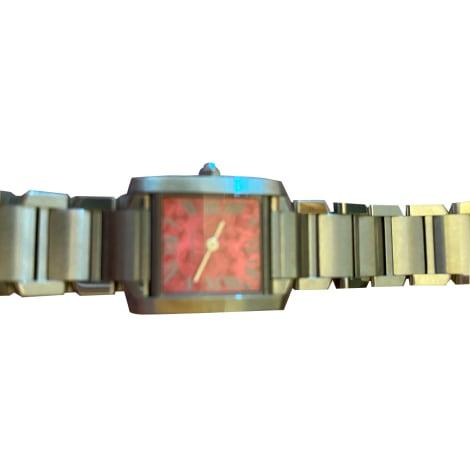Armbanduhr CARTIER Silberfarben, stahlfarben