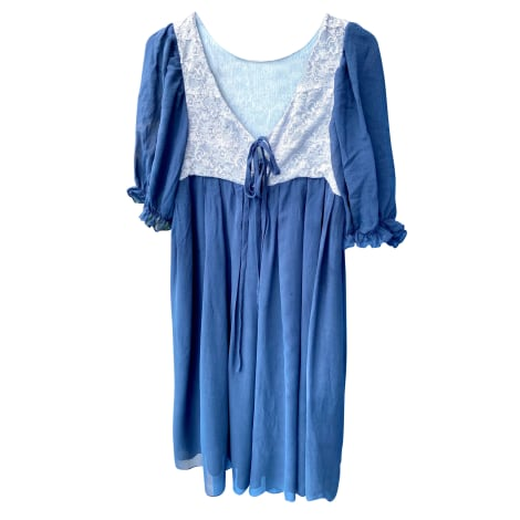 Robe courte MES DEMOISELLES... Bleu, bleu marine, bleu turquoise