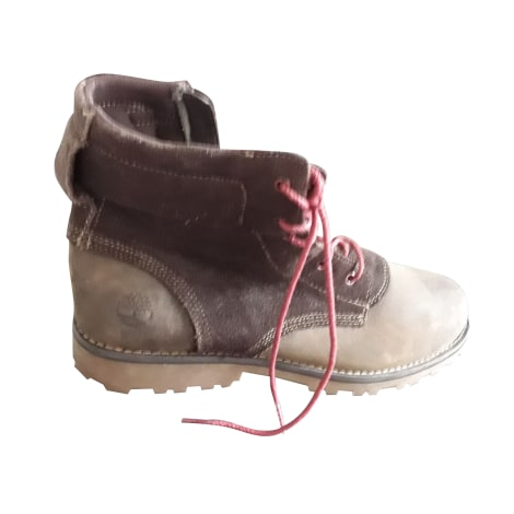 Stiefeletten, Ankle Boots TIMBERLAND Braun