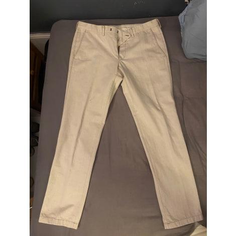 Straight Leg Pants GUCCI White, off-white, ecru
