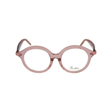 Eyeglass Frames POMELLATO Beige, camel