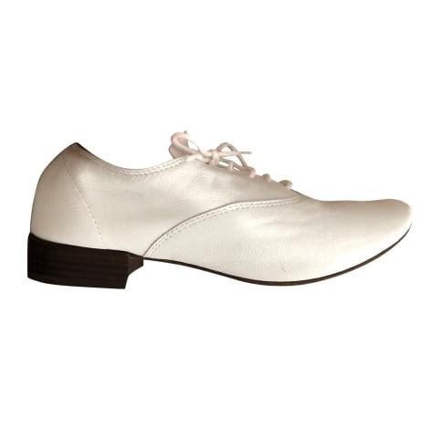 Chaussures à lacets  REPETTO Blanc, blanc cassé, écru