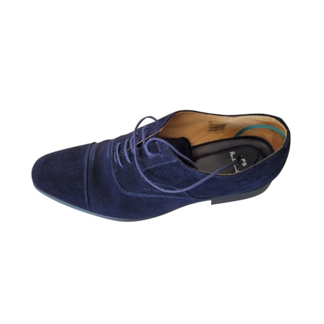Calzature stringate PAUL SMITH Blu, blu navy, turchese