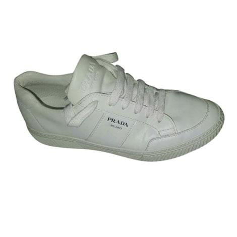 Baskets PRADA Blanc