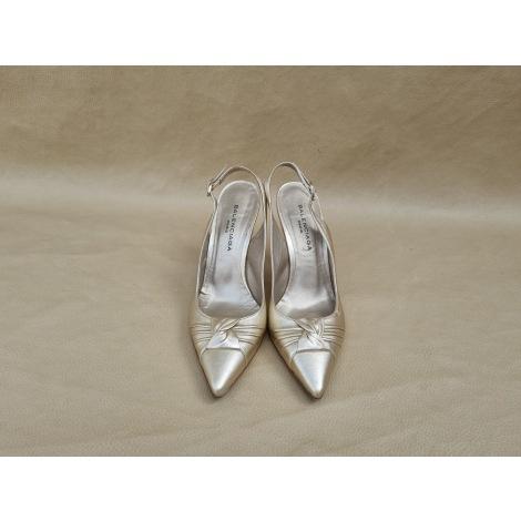 Chaussures de danse  BALENCIAGA Doré, bronze, cuivre