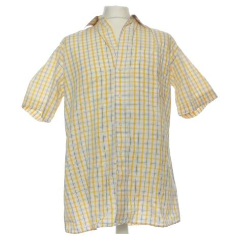 Short-sleeved Shirt PIERRE CARDIN Yellow