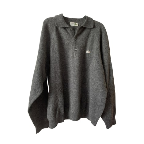 Sweater LACOSTE Gray, charcoal