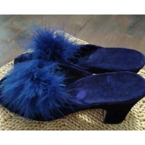 Hausschuhe, Pantoffeln SANS Blau, marineblau, türkisblau