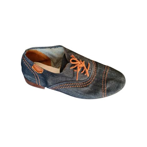 Chaussures à lacets  REPETTO Bleu, bleu marine, bleu turquoise