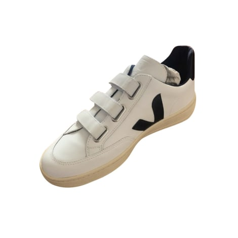 Baskets VEJA Blanc, blanc cassé, écru