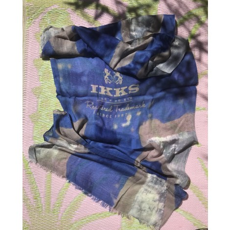 Foulard IKKS Bleu, bleu marine, bleu turquoise