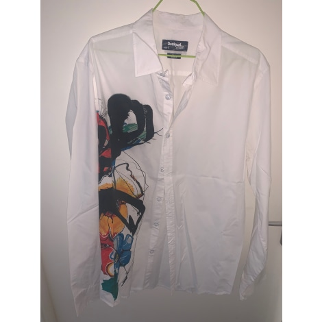Shirt DESIGUAL White, off-white, ecru