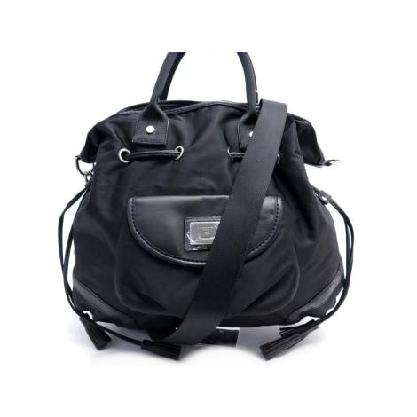 Leather Handbag LANCEL Noir