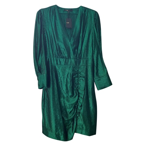 Robe courte MAJE Vert
