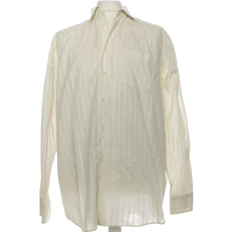 Shirt PIERRE CARDIN White, off-white, ecru