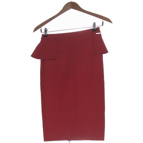 Midi Skirt GUESS Red, burgundy