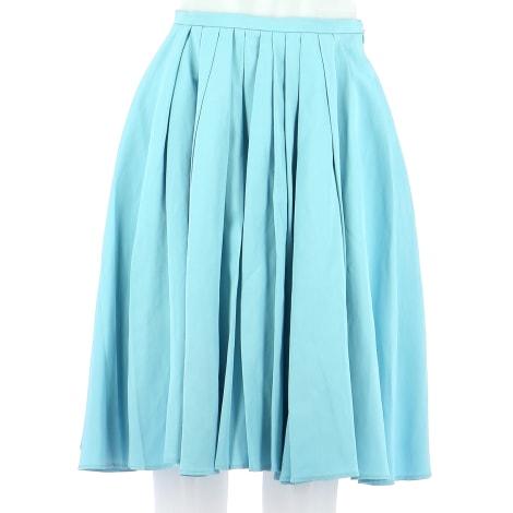 Midi Skirt TARA JARMON Blue, navy, turquoise
