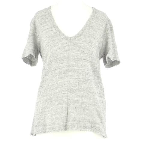 Top, tee-shirt ZADIG & VOLTAIRE Gris, anthracite