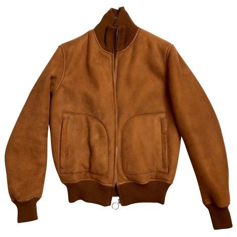 Zipped Jacket SANDRO Beige, camel