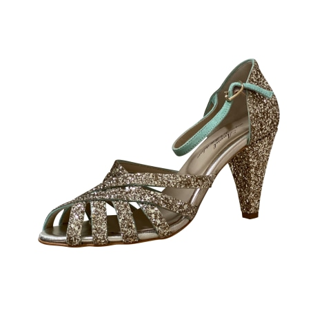Pumps, Heels ANNIEL Golden, bronze, copper